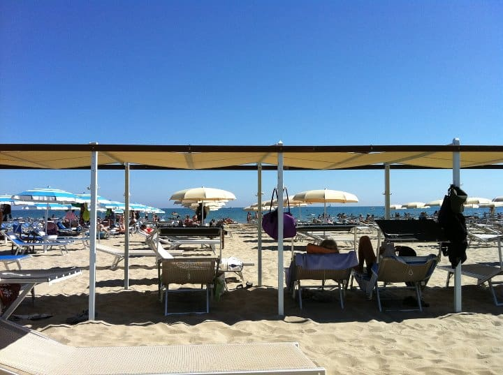 Playa del sol - bagni 108 e 109 a Riccione - wellness e tintarella ...