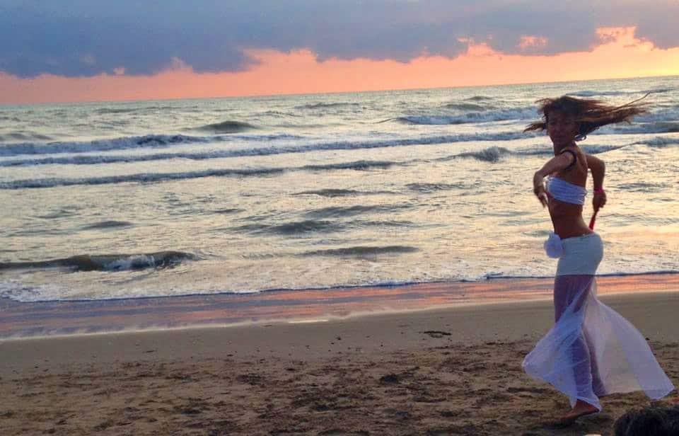 balli in riva al mare - Playa del Sol Riccione : Playa del Sol Riccione