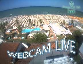 Webcam Live Playa del Sol bagni 108 - 109 Riccione