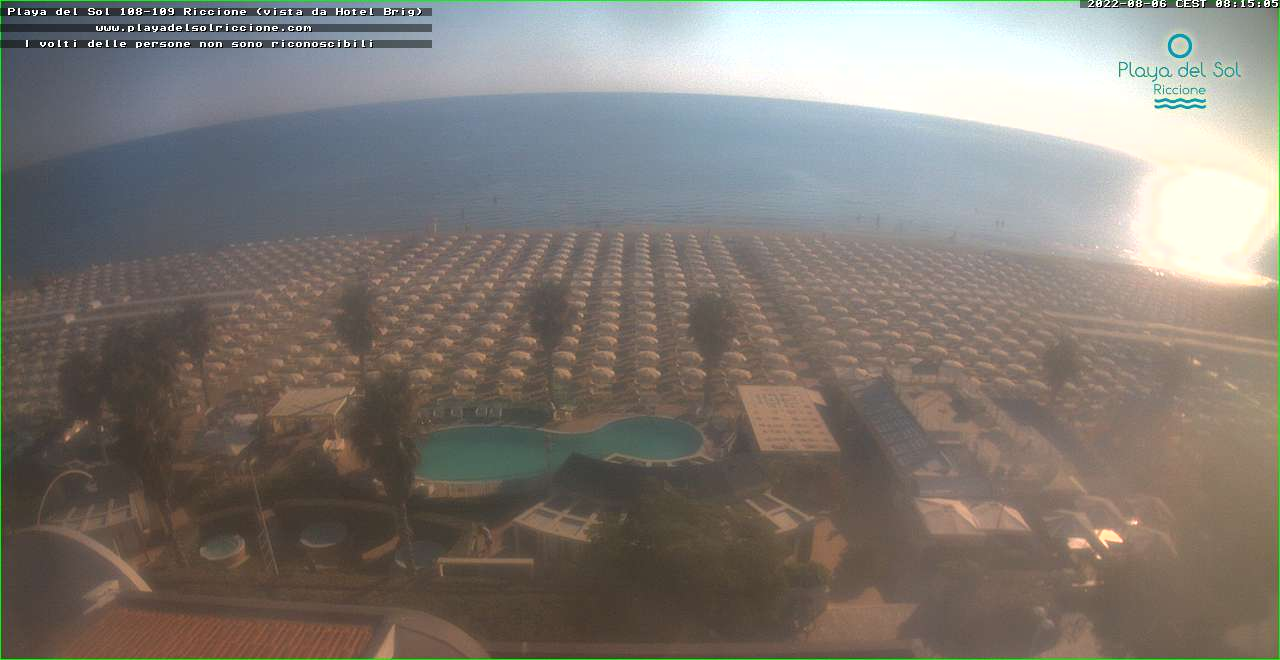 Webcam Riviera Romagnola - Webcam Meteo » ILMETEO.it